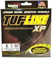BRAID TUF-LINE XP 6lb green 300yards Spectra advanced multifilament line USA