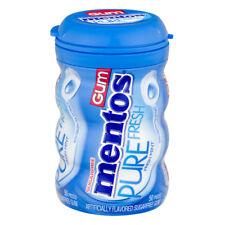 MENTOS PURE FRESH SUGAR FREE GUM FRESH MINT 50CT, PACK OF 6 (300CT)