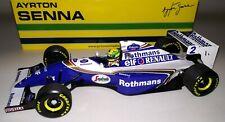 Minichamps F1 Williams Renault FW16 Ayrton Senna 1/18 Pacific GP 1994 'Rothmans'