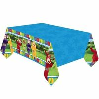 Teletubbies Plastic Tablecover 1.2x1.8m Childrens Birthday Party Tableware