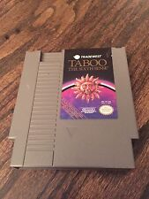 Taboo: The Sixth Sense (Nintendo Entertainment System, 1989) NES Cart NE4