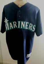 Majestic Custom Jersey Men'S Size L Seattle Mariners Becerra #2 Sewn