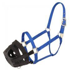 Tough 1 Easy Breathe Poly Nylon Grazing Muzzle Attachment Laminitis Small Horse