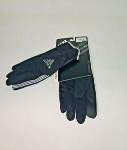 Adidas Men's AWP ClimaWarm Voyager Tech Zip pocket Gloves Black M/L