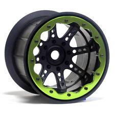 8-spoke 3.8'' Oversize Beadlock wheel Black (4pcs) fit Pro-Line RC4WD 40Series