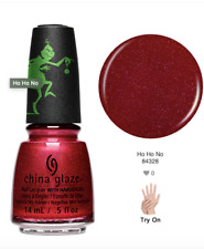 China Glaze Nail Lacquer THE GRINCH Collection Ready To Wear -Ho Ho Ho