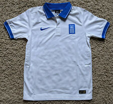 Greece National Team 14 Home kit/jersey youth Large - boys 2014