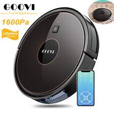 GOOVI New D382 1600Pa Wi-Fi APP Vacuum Cleaner Smart Auto Robotic Self Charging