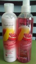 Avon Naturals Pomegranate & Mango Body Spray & Body Lotion.