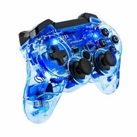 PDP Afterglow Wireless Controller For PlayStation 3, PS3 - Blue (064-015)™