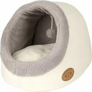 Banbury & Co Cosy Luxury Cosy Cat Igloo Soft Warm Soft Comfortable Bed
