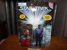 "STAR TREK NEXT GENERATION, GEORDI LAFORGE, RETIRED OFFICER 4.5"" FIG., NOC, 1995"