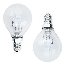 10x POWERSAVE 42w=60w E14 SES SCREW IN CAP UK 240v LIGHT BULB GOLF LAMP DIMMABLE