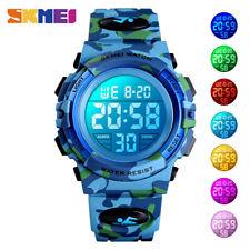 skmei kids orologio digitale 5bar orologi a led impermeabili per bambina 1548 E