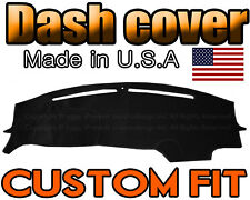 fits 2015 - 2018  DODGE  CHALLENGER  DASH COVER  MAT  DASHBOARD PAD /  BLACK