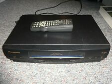 Panasonic Pv-V4020 4 Head Omnivision Vcr Vhs Player /Recorder with remote
