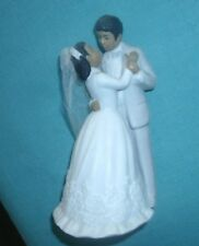 1988 LEFTON BRIDE AND GROOM MADE OF CHINA  NICE WEDDING  CAKE TOPPER