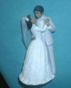 1988 LEFTON BRIDE AND GROOM MADE OF CHINA  NICE WEDDING  CAKE TOPPER' NEW