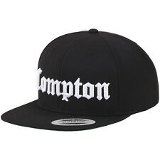 Merchcode Snapback Cap-Compton Nero