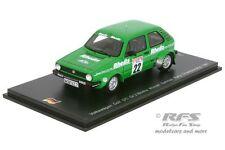 VW Golf I GTI  Gr.2 RHEILA - Hunsrück Rallye 1981 - Stock - 1:43 Spark SG 070