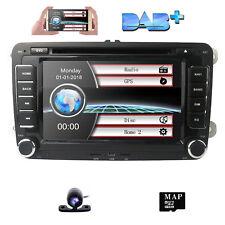 "7"" 2 Din car dvd player GPS stereo radio For VW Golf MK5 Passat CC EOS 2006-2012"