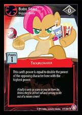 MLP My Little Pony CCG ABSOLUTE DISCORD :Babs Seed, Bigger Bully - FOIL F45