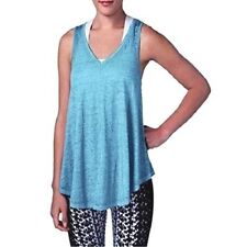 Calvin Klein Performance Icy Wash Tank Top Color Wave Blue Size Medium