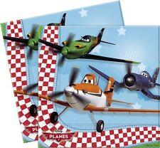 Serviette Anniversaire Planes Disney fete enfant serviettes ELIAXE