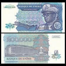 20.000 20000 Nouveaux Zaires 1996 Banknote Note ZAIRE UNC P 73 P73