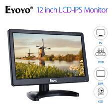 "EYOYO 12"" IPS LCD IPS Screen Monitor HD Video Camera CCTV PC Monitor HDMI VGA AV"