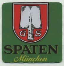 Spaten German Bier COASTER - Munchen Beer
