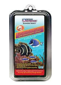 Ocean Nutrition Seaweed 20g Red Nori Aquarium Fish Tank Food + FREE CLIP