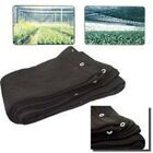 14 x 20 Black Mesh Net Sun Shade Tarp for Porch or Greenhouse Sunshade Canopy