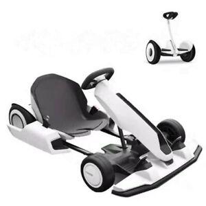 TEN-HIGH 54V 4AH Mini Go-Karts Kit White for Kids/Adults Battery Powered Motor