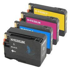 4 PACK 932 XL 933 XL Ink Cartridge for HP Officejet 6100 6700 6600 7100 New Chip