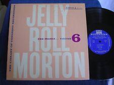 Jelly Roll Morton Library Congress Recordings Vol 6/1955/Riverside RLP 9006/M-