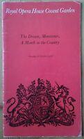 The Dream... Ballet programme Royal Opera House Covent Garden 26th October 1976