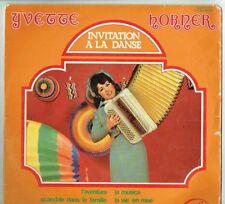"""33 tours Yvette HORNER Disque LP 12"""" INVITATION A LA DANSE Musette MFP 13.159"""