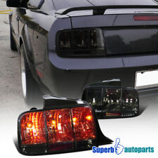 2005 2009 Ford Mustang Tail Lights Sequential Signal Lamp Smoke