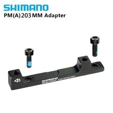 Shimano Disc Brake Adapter, Front, SM MA F203P/P, (PM Caliper to PM Fork) 203mm