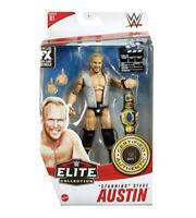 WWE Stone Cold Stunning Steve Austin Mattel Elite Series 81 Wrestling Figure