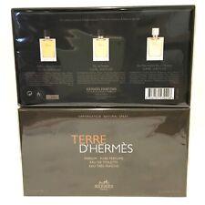 Terre D'Hermes by Hermes Mini Set (Parfum + EDT + Fraiche EDT) Sealed in Box!