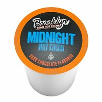 40 Brooklyn Beans Midnight Dark Chocolate Hot Cocoa Pods, Keurig K-Cups Brewer