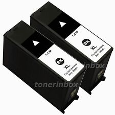 2 Pack 100XL Black Ink Cartridge For Lexmark S301 S305 S405 S505 S605 S815 S816