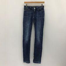 D&G  Dark Blue Skinny Fit Classic Jeans Chic Ladies UK W30 L32 Size 25 37393