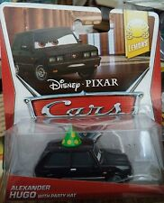 DISNEY CARS ALEXANDER HUGO WITH PARTY HAT 5/8 LEMONS *NEW*