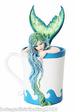 Morning Bliss Mermaid Amy Brown 2015 Collection Tea Coffee Sea Water