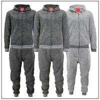 Mens Athletic 2-Piece Jogging Running Gym Casual Pants Fleece Track Suit Set