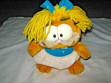 "A Vintage 1981 R. Dakin United Features Synd 10"" Plush Female Garfield Toy"