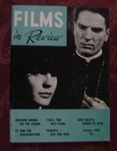 RARE FILMS in REVIEW Magazine January 1964 Gene Kelly Graham Greene